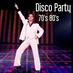 Disco Party 70's and 80's